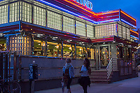 The Court Square Diner in Long Island City in Queens on Saturday, September 21, 2013.  (© Richard B. Levine)