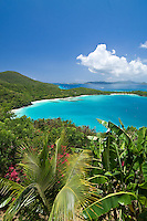 Hawksnest Beach.Virgin Islands National Park.St. John, US Virgin Islands