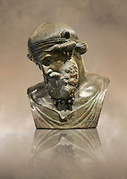 Roman bronze sculpture of Dinoysus - Plato, Naples Museum of Archaeology, Italy