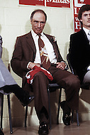 Vancouver, Canada, February 13 1980. Joseph Philippe Pierre Yves Elliott Trudeau, (October 18, 1919 - September 28, 2000), was the 15th Prime Minister of Canada from April 20, 1968 to June 4, 1979, and again from March 3, 1980 to June 30, 1984 campaigning ahead of the legislative elctions on May 22 1980.