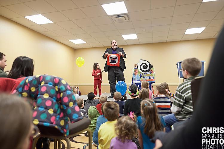 02/12/12 - Kalamazoo, MI: Kalamazoo Baby & Family Expo.  Photo by Chris McGuire.
