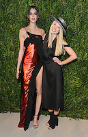 NEW YORK, NY - NOVEMBER 07:  Vanessa Moody and Gigi Burris attends 13th Annual CFDA/Vogue Fashion Fund Awards at Spring Studios on November 7, 2016 in New York City. Photo by John Palmer/ MediaPunch