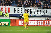 VOETBAL: HEERENVEEN: Abe Lenstra Stadion 18-10-2015, SC Heerenveen - Feyenoord, uitslag 2-5, Heerenveen keeper Erwin Mulder, ©foto Martin de Jong