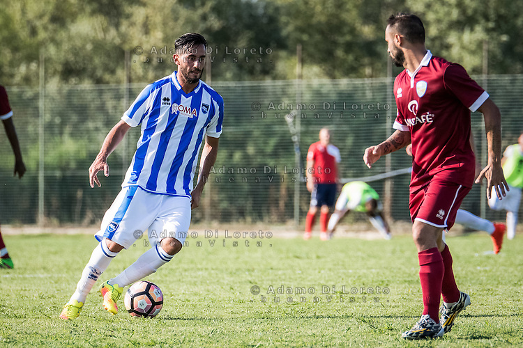 during the Italian friendly football match San Nicolò vs Pescara (0-3) on September 01, 2016, in San Nicolò (TE), Italy. Photo by iSportFoto.it