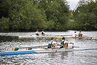 Thames Valley Park Regatta, Reading, Berkshire. 19.06.2011.J14 2X.231 Hampton School B.C.   B .232 Hereford Cathedral School B.C..233 Windsor Boys School B.C.   B
