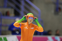 SCHAATSEN: CALGARY: Olympic Oval, 08-11-2013, Essent ISU World Cup, 500m, Mayon Kuipers (NED), ©foto Martin de Jong