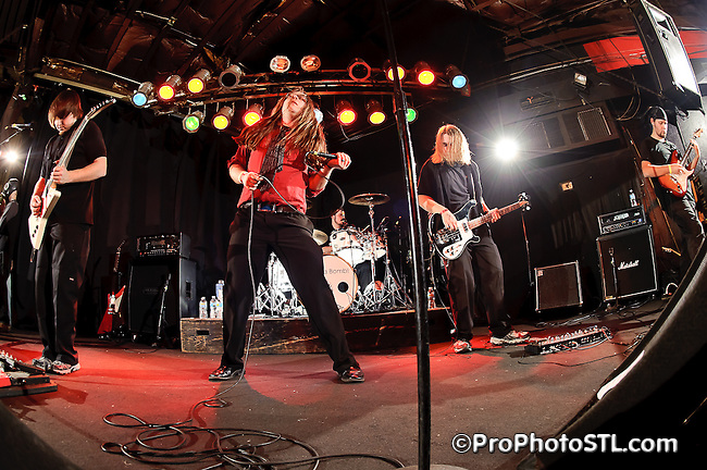 I Have A Bomb CD release show at Pop's in Sauget, IL on Feb 26, 2011.