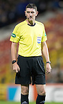 Aberdeen v St Johnstone&hellip;22.09.16.. Pittodrie..  Betfred Cup<br />Referee Craig Thomson<br />Picture by Graeme Hart.<br />Copyright Perthshire Picture Agency<br />Tel: 01738 623350  Mobile: 07990 594431