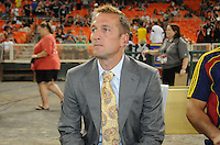 Real Salt Lake head coach Jason Kreis. D.C. United defeated Real Salt Lake 4-1 at RFK Stadium, Saturday September 24 , 2011.