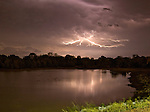 Lightning storm in Collierville TN.