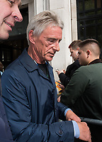 Chris Evans, speaks to The Jam frontman Paul Weller about his new album A Kind of Revolution and Pink Floyd drummer and songwriter Nick Mason about the band's art exhibition Their Mortal Remains, at BBC Radio 2, London<br /> CAP/JOR<br /> &copy;JOR/Capital Pictures /MediaPunch ***NORTH AND SOUTH AMERICAS ONLY***