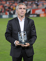 Former D.C. United Player Richie Williams  after the induction to the D.C. United Wall of Fame, The Chicago Fire defeated D.C. United 2-1 at RFK Stadium, Saturday October 15, 2011.