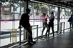 Security problems by customers of TRANSMILENIO in Bogota
