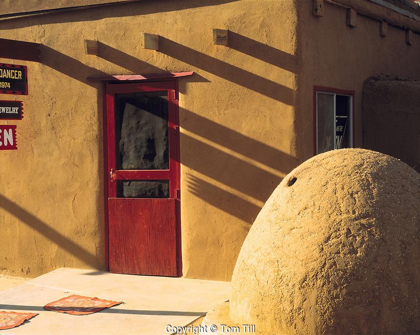 Taos Pueblo detail, Near Taos, New Mexico, September 1999