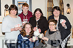 Launching the Coffee morning and the 31 Card Drive in aid of Maureen Kelliher in the Kerry Way Glenflesk on Saturday were front row l-r: Maureen Kelliher and Peggy Horan . Back row:  Peig Doherty, Jack O'Donoghue, Mary McCarrick and Anne Courtney