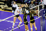 Oregon vs UW Volleyball 11/7/14
