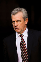 Mexico (MEX) head coach Javier Aguirre. Mexico (MEX) defeated the United States (USA) 5-0 during the finals of the CONCACAF Gold Cup at Giants Stadium in East Rutherford, NJ, on July 26, 2009.