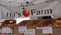 Ha's Apple Farm, seen at SoCO Farmers' Market.