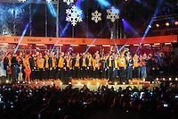 OLYMPICS: ASSSEN: 24-02-14, Welkom Thuis Olympische sporters, huldiging in het centrum van Assen, ©foto Martin de Jong