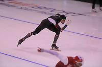 SPEEDSKATING: CALGARY: 14-11-2015, Olympic Oval, ISU World Cup, 1000m B-division, Haralds Silovs (LAT), ©foto Martin de Jong