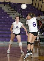 JV and Varsity Volleyball vs. Hamilton SE 9-30-08