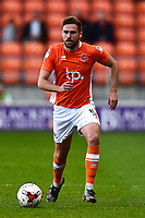 Blackpool's Clark Robertson in action<br /> <br /> Photographer Richard Martin-Roberts/CameraSport<br /> <br /> The EFL Sky Bet League Two Play-Off Semi Final First Leg - Blackpool v Luton Town - Sunday May 14th 2017 - Bloomfield Road - Blackpool<br /> <br /> World Copyright &copy; 2017 CameraSport. All rights reserved. 43 Linden Ave. Countesthorpe. Leicester. England. LE8 5PG - Tel: +44 (0) 116 277 4147 - admin@camerasport.com - www.camerasport.com