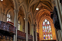 A view of the interior of the Dublin Castle Church.