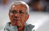Italy manager Marcello Lippi. Italy defeated USA 3-1 during the FIFA Confederations Cup at Loftus Versfeld Stadium, in Tshwane/Pretoria South Africa on June 15, 2009.