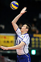 Yusuke Matsuta (Panthers), MARCH 5, 2011 - Volleyball : 2010/11 Men's V.Premier League match between Toyoda Gosei Trefuerza 1-3 Panasonic Panthers at Tokyo Metropolitan Gymnasium in Tokyo, Japan. (Photo by AZUL/AFLO).