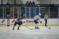 Men's DIII Hockey plays UNCW on September 28, 2013. (Photo by Ty Hester)