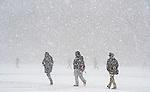 1.13.13 Campus Snow.JPG by Barbara Johnston/University of Notre Dame