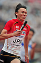 Shinji Takahira (JPN), JULY 8, 2011 - Athletics :The 19th Asian Athletics Championships Hyogo/Kobe, Men's 4x100m Relay Round 1 at Kobe Sports Park Stadium, Hyogo ,Japan. (Photo by Jun Tsukida/AFLO SPORT) [0003]