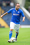 St Johnstone FC...  Season 2014-2015<br /> Lee Croft<br /> Picture by Graeme Hart.<br /> Copyright Perthshire Picture Agency<br /> Tel: 01738 623350  Mobile: 07990 594431