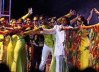 Juan Gabriel in concert at the Fox Center in San Francisco del Rincón. Leon Guanajuato. México . June 1, 2012. Photo: Tirador Tercero/NortePhoto/MediaPunch Inc. ***No Mexico*** *** No Spain***