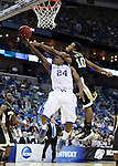 Ishmael Smith guards freshman guard Eric Bledsoe during the second half of UK's second round  win, 90-60 over Wake Forest in the NCAA tournament at New Orleans Arena on Saturday, March 20, 2010. Photo by Britney McIntosh | Staff