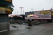 Brooklyn, New York<br /> April 25, 2010<br /> <br /> A rainy day at Coney Island beach.