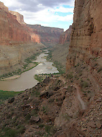 COURTESY PHOTO ROBERT PEKEL<br /> River runners explore a trail during their 15-day raft trip through the Grand Canyon. Robert Pekel of Rogers was a crewman on the expedition that covered 280 miles.