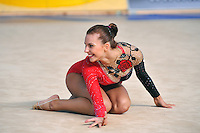 Joanna Mitrosz of Poland performs with rope at 2010 Holon Grand Prix at Holon, Israel on September 3, 2010.  (Photo by Tom Theobald).