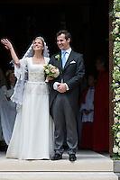 Princess Alix de Ligne & Guillaume de Dampierre wedding in Beloeil - Belgium.