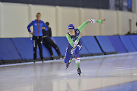 SPEED SKATING: SALT LAKE CITY: 18-11-2015, Utah Olympic Oval, ISU World Cup, training, Annouk van der Weijden (NED), ©foto Martin de Jong
