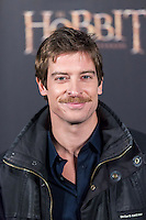 """Manu Baqueiro attends  """"The Hobbit: An Unexpected Journey"""" premiere at the Callao cinema- Madrid."""