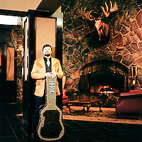 SEPTEMBER 2011 - ANCHORAGE, ALASKA:  Singer songwriter Jared Woods in Anchorage, Alaska.