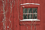 Barn Window Winter