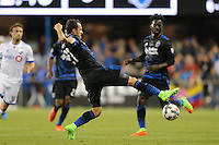 San Jose, CA - Saturday, March 04, 2017: Marco Ureña prior to a Major League Soccer (MLS) match between the San Jose Earthquakes and the Montreal Impact at Avaya Stadium.