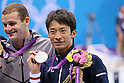2012 Olympic Games - Swimming - Men's 200m Backstroke Medal Ceremony