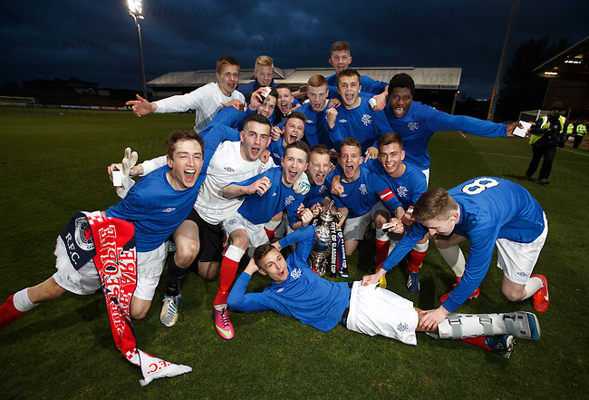 Rangers win the Glasgow Cup after beating Celtic 3-2