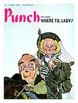 PUNCH 1970s Front Cover Cartoons