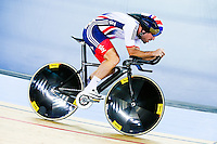 Picture by Charlie Forgham-Bailey/SWpix.com - 04/03/2016 - Cycling - 2016 UCI Track Cycling World Championships, Day 3 - Lee Valley VeloPark, London, England - Mark Cavendish of GBR in action in the Men's Omnium Individual Pursuit.