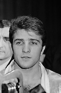 11 May 1970, Manhattan, New York City, New York State, USA. Donato Paduano at Madison Square Garden for the weigh in and press conference for his fight against Marcel Cerdan Jr. Image by © JP Laffont