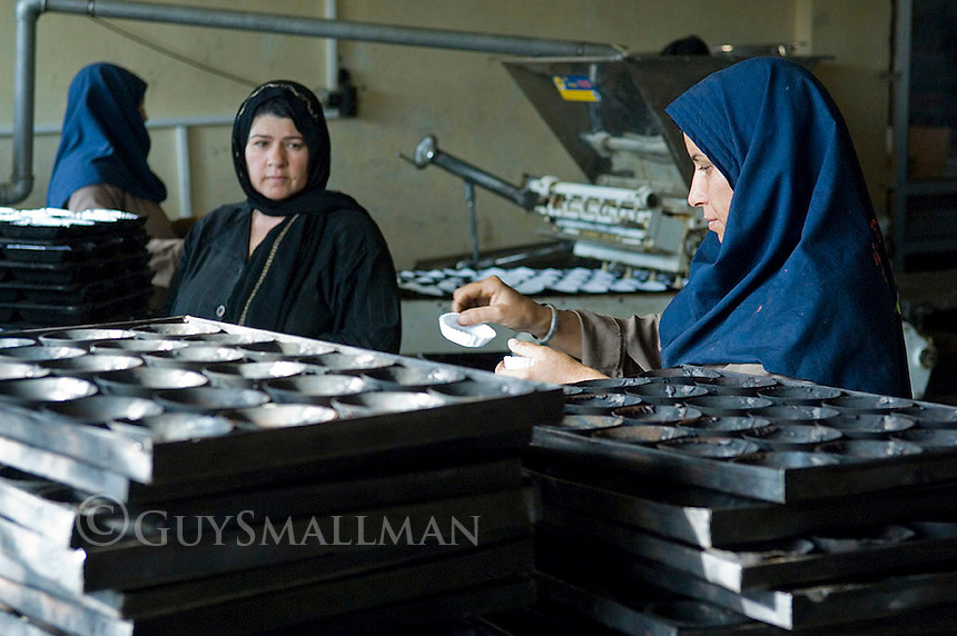The Delpazir cake and cookie factory in Herat Afghanistan.